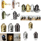 E27 Aluminum Retro Antique Vintage LED Light Lamp Bulb Holder Socket Fitting Sha