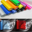 100*30CM Laser Lens/Cat Eye Vehicle Wrap Vinyl Sticker Film for Tail Headlight