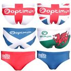Optimum Taackle Trunks Rugby League Union Underwear Country Print
