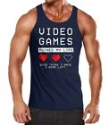 Lustiges Herren Tanktop Video Games ruined my Life good thing I have 2 more