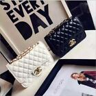 Hot 2017 Women's Quilted Chain Bag Leather Shoulder Crossbody Handbag Wholesale