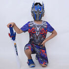 Optimus Prime Kids Costume The Last Knight Children Cosplay Shirt Shorts Mask - Time Remaining: 5 days 16 hours 25 minutes 17 seconds
