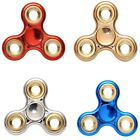 LUXURY Chrome Plating Fidget Hand Spinner Anti-Stress Focus ADHD Anxiety 4 Color