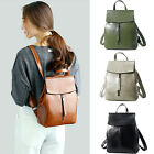 Convertible Small Real Leather Backpack Rucksack Single Shoulder Bag Purse Cute