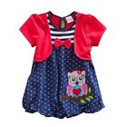 Girls' Clothing Dress 2-6 Years toddlers owl pretty short sleeve dress