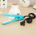 New Mini Ion Ceramic Hair Care Straightener Curler Flat Iron Perm Splint Beauty
