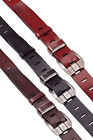 Mens Genuine Leather Plain Belt Pin Metal Buckle Business Casual Formal Wear New