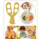 Convient AmazingChildren Baby Baby Food Supplement Food Safety Scissors Tool New