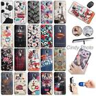 For LeEco Coolpad Cool1 Letv Cool 1 Ring Kickstand 3D Relief Black Case Cover