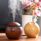 Home Office Aroma Essential Oil Diffuser Ultrasonic Light Wooden USB Humidifier
