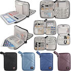 BUBM Travel Organizer Case for iPad iPhone Samsung,Cables Earphones Charger Bag