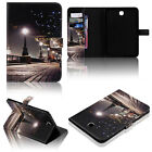 For Samsung Galaxt Tab 4 10.1 SM-T530 Smart Folio Pattern PU Leather Stand Case