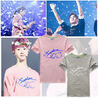 New arrived SEVENTEEN17 cotton white T shirt export from korean loose summer tee