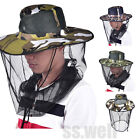 Внешний вид - Outdoor Mosquito Resistance Bug Insect Bee Net Mesh Head Face Protector Cap Hat