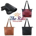 Vism Leather Concealed Carry Gun Purse CCW Satchel Small Purse Handbag NEW