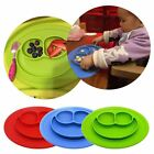 Cute Bowl Silicone Mat Baby Kids Children Suction Table Food Tray Placemat Plate