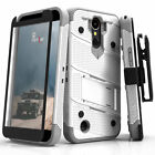 LG K20 Plus Case, Zizo Bolt w/ Screen Protector Holster and Kickstand