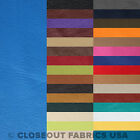 Crafts - VINYL FABRIC FAUX LEATHER FABRIC PLEATHER UPHOLSTERY FABRIC - 31 COLORS - 54