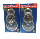 Sink Strainer Stainless Steel Sets For Kitchen and Bathroom