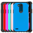 For LG X Charge /X Power 2 /Fiesta Shockproof Hard Armor Hybrid Phone Case Cover