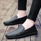 Fashion Spring Men Leather Loafer Slip Ons Oxfords Flats Driving Shoes US 6-12.5