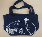 Moomin Canvas Tote Lunch Bag Shopper Book Beach - Baby Moomintroll Mamma + Pappa
