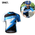 Spakct Cycling Bike Bicycle Short Jersey Short Sleeves - Lightning Blue New