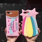 3D Cartoon Sea Shell Soft Silicone Phone Case Cover For iPhone 6 6s 7 / Plus