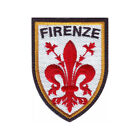 ITALY FLORENCE FIRENZE SHIELD EMBROIDERED PATCH