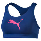 Puma Powershape Forever Womens Ladies Fitness Sports Bra Blue