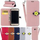 Lovely Magnetic Flip Leather Wallet Soft Case Cover Fr Samsung Galaxy A3 A5 2017