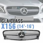Sport Front Mesh Grill AMG Style for Mercedes Benz GLA Class X156 *4 VERSION