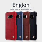 100% Original NILLKIN Englon Leather Back Cover Case For Samsung Galaxy S8 Plus