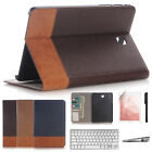 """Keyboard + Folio Leather Case Cover For Samsung Galaxy Tab S3 9.7"""" T820/T825"""