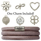 Endless Jewelry StarterKit Brown Triple Bracelet & Charm (Authorized Retailer)