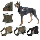 OneTigris Dog Harness Vest Tactical MOLLE Training Harness for Service Dog
