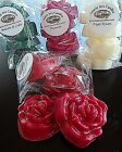 Wax Tart Melts Rose Shape Single or Bulk Packs - Over 250+ Scents to Choose From