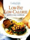 Cooking Light Quick and Easy,  Low-Fat,  Low-Calorie Cookbook Leisure Arts Hardco
