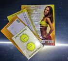 Sunbed And Sray Tan Record Cards, Appointment Cards And Consultation cards
