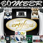 Kansas City Chiefs 2017 Panini Certified Full Case 12BX Index Card Auto Break