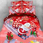 Cartoon Quilt/Duvet/Doona Super King Queen Single Size Bed Christmas Father New