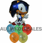 SONIC THE HEDGEHOG BALLOON BIRTHDAY PARTY LOLLY BAG TREAT BOX FILLER DECORATION