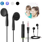 Universal 3.5mm Stereo In-Ear Headset Headphone Earphone With Mic for Cell Phone