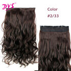 Clip In Hair Extensions Long Wavy Women Synthetic Clip In Hair 5clips/pec 24inch