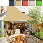 16' x 16' x 16' Triangle Sun Shade Sail UV Block Top Outdoor Canopy Patio Lawn