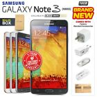 New Factory Unlocked SAMSUNG Note 3 N9005 Black White Gold 16GB Android Phone
