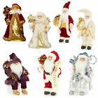 Premier 30cm Santa - Christmas Room Decoration - Choose Colour & Design