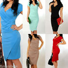 Kyпить Womens Ladies Elegant Ruched Vestido Work Office Business Party Bodycon OL Dress на еВаy.соm