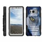 For Samsung Galaxy S8 Active G892 Rugged Holster Belt Clip Kickstand Case Armor