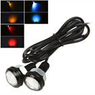 2Pcs 12V 18W Auto Car Eagle Eye LED Daytime Running Lights Lamps Reversing Bulb